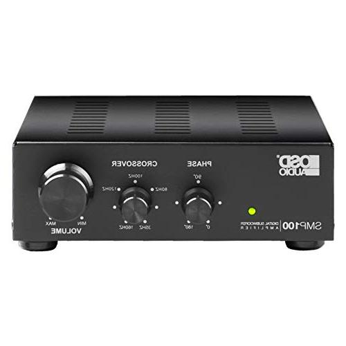 SMP100 Mono-Channel Class Subwoofer 100W, Digital, Auto Sensing, and CE