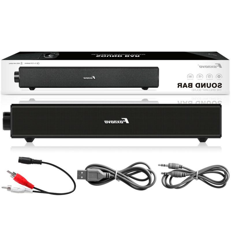 Sound Bar TV Wired and Home NEW