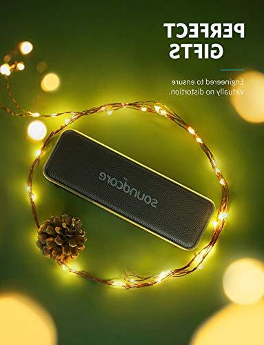 Portable Soundcore B Portable Speaker by with 12W Louder Sound, Waterproof, Playtime, Soundcore Edition and Outdoors
