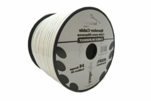 speaker wire 14 ga white