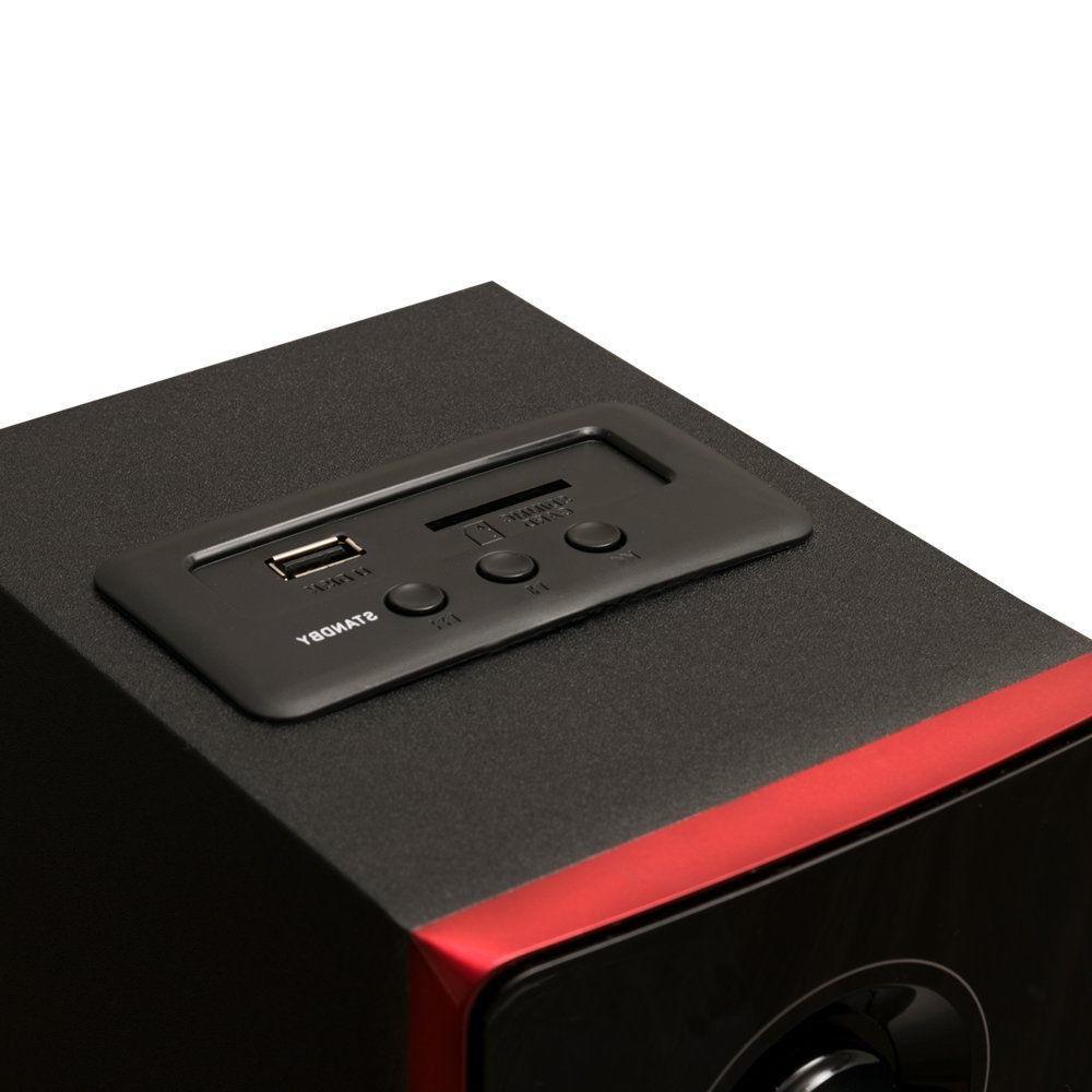 Stereo System Audio Shelf Sound Speakers Radio Wireless