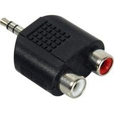 3.5MM Stereo to Dual RCA-F Adaptor-by-Tecnec