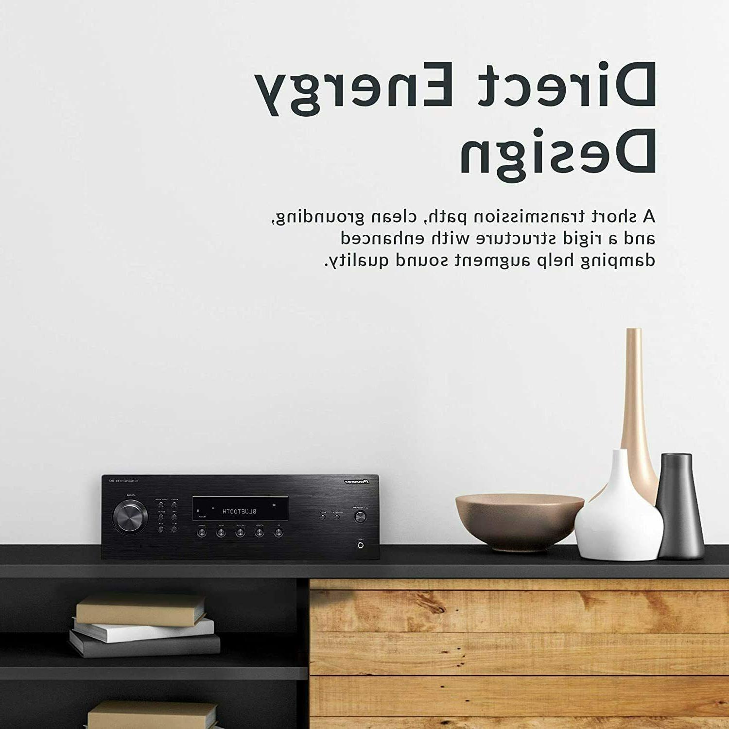 Pioneer Home Stereo Receiver with Wireless Technology,