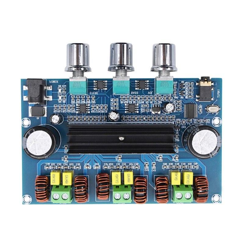 TPA3116 <font><b>Amplifier</b></font> <font><b>Board</b></font> 2.1Channel D Home Speaker Bluetooth 5.0 Receiver for