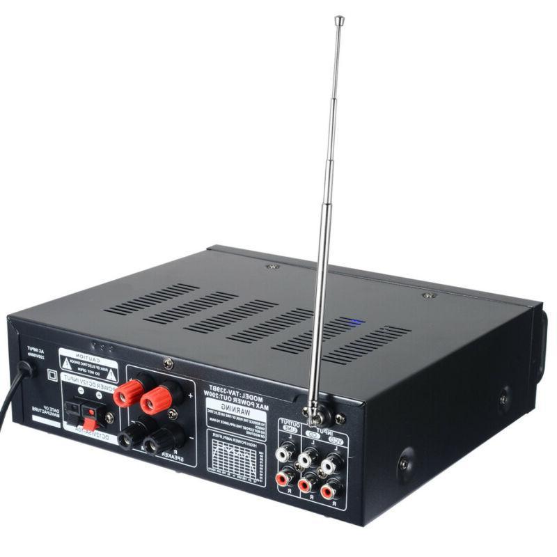 500W Bluetooth HiFi Stereo Amplifier USB