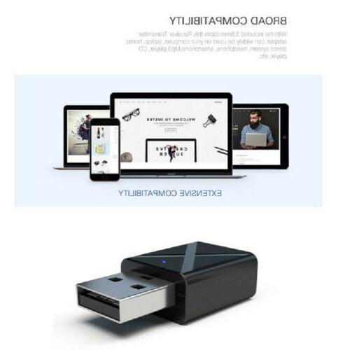 USB 3.5 mm Audio Music Car Home