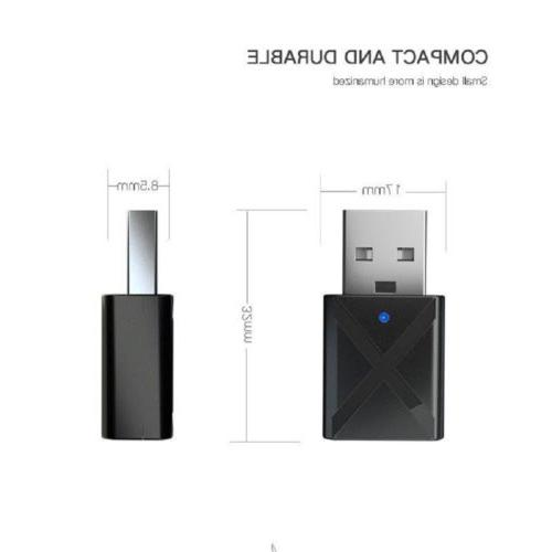 USB Bluetooth 3.5 mm Stereo Music Receiver Home