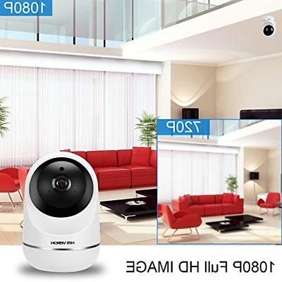 HISVISION Wireless 1080P IP Camera, Surveillance Camera
