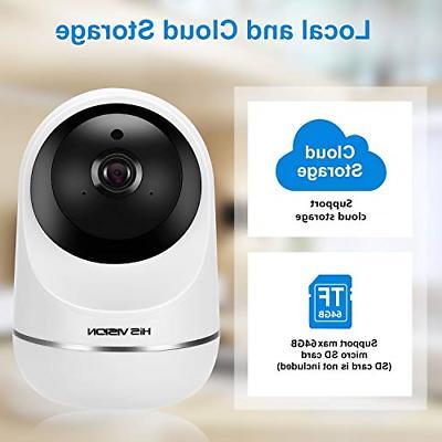 HISVISION Camera, WiFi Home Surveillance HD