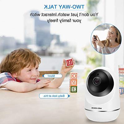 HISVISION IP Camera, Home Security Surveillance SD