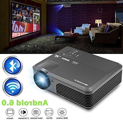 wireless wifi projector