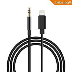 WamGra Aux Cord for iPhone,3.5mm Male Aux Stereo Audio Cable