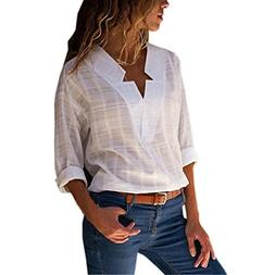 Hemlock Long Sleeve Shirt, Women's Turn Down Collar Blouse B