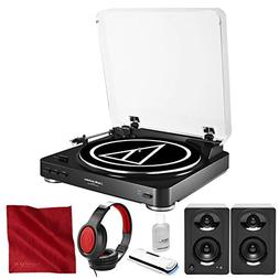 Audio-Technica AT-LP60 Fully Automatic Belt-Drive Turntable
