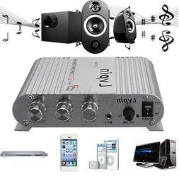 LVPIN 12V 200W Super Bass Mini Hi-Fi Stereo Amplifier Booste