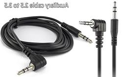 Focuslife 3.5mm Male to 2.5mm Male Audio AUX Jack Car Home S