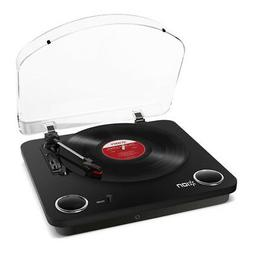 Ion Max LP 3 Speed Conversion Turntable Stereo Speakers - Di
