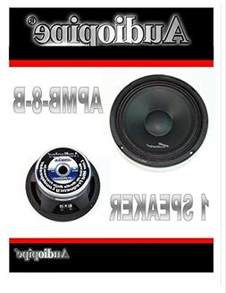 "Audiopipe APMB-8-B 8"" Speaker Midbass 500W 8 ohm Cast Basket"