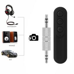 Mini Bluetooth Wireless Receiver 3.5mm Adapter for Car, Head