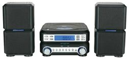 NAXA MINI HOME MICRO COMPACT SHELF SYSTEM w/ STEREO RADIO&CD