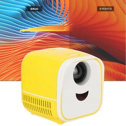 Mini Portable Projector 5W Stereo Speaker Home TV Video Cine