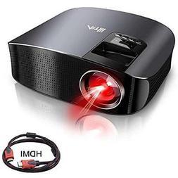"Movie Video Projectors Projector, Artlii HD 200"" HiFi Stereo"