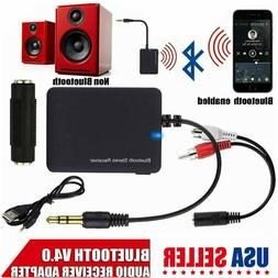 3.5mm Wireless Portable Bluetooth Audio Stereo Receiver for