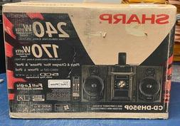 *NEW* SHARP CD-DH950P MINI COMPONENT HOME STEREO SYSTEM