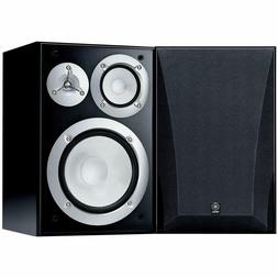 NEW Yamaha NS 6490 3 Way Bookshelf Speakers Black Finish Pai
