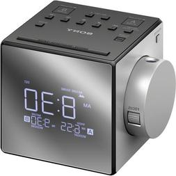 Sony All in One Compact AM/FM Dual Alarm Clock Radio With Ti