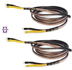 Analysis Plus Oval 12 Speaker Cable  4 ft
