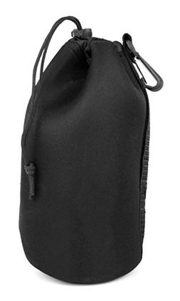 Padded Black Pouch with Belt Clip for the Pure Voca Portable