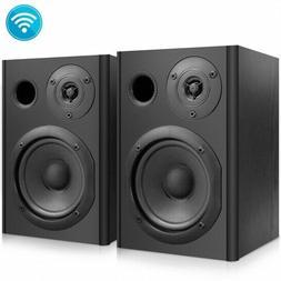 Pyle PBKSP52 Powered Bluetooth Studio Monitor Bookshelf Spea