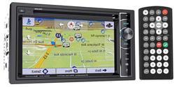 """POWER ACOUSTIK PDN_626B 6.2"""" Double-DIN In-Dash GPS Navigati"""