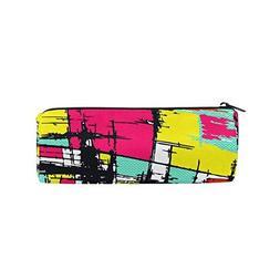 Pen Pencil Case Abstract Graffiti Hip Hop Makeup Bag Zipper