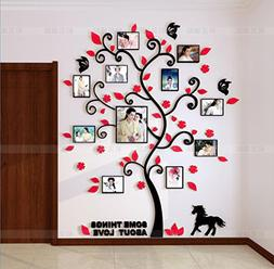 Baron W.H Photo Tree Stickers Wall Stickers Creative 3D Ster