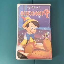 Pinocchio Open Box  Disney Home Video Digitally Mastered/ Hi