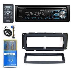 Pioneer DEH-X4800BT USB DVD CD CAR BLUETOOTH, 9.3 x 1.3 x 3.