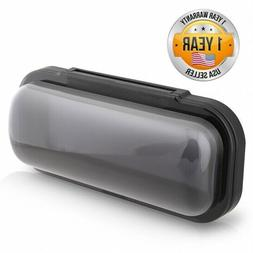 Water Resistant Marine Stereo Cover - Smoke Colored Heavy Du