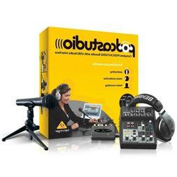 Podcast Setup Home Recording Studio Youtube Equipment Twitch