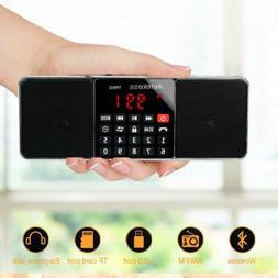 RETEKESS Portable AM/FM Stereo Radio MP3 Player Speaker+ Sle