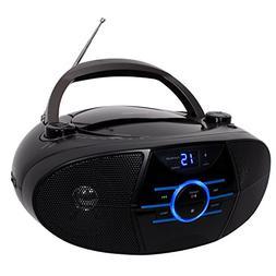 Jensen Portable Bluetooth Cd Player AM/FM Radio Tuner Mega B