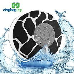 geegadgets Portable Bluetooth Shower Speaker with Suction Cu