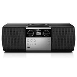 Philips Portable Micro Hi-Fi Music Sound System, CD Player,