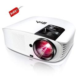 HD Projector, Artlii 2019 Upgraded 3600 Lumen Movie Projecto