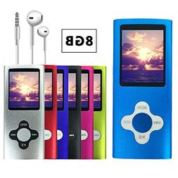 VOLGER DIGITAL 8 GB Portable Ultra-thin MP3 MP4 Player LCD D