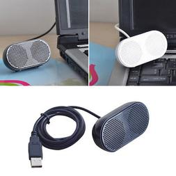 Portable USB Stereo Music Speaker for Home Office Desktop La