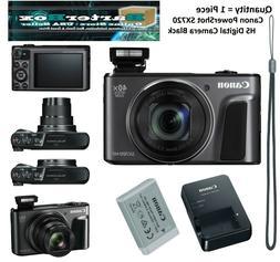 PowerShot SX720 HS 20.3 Megapixel Compact Camera - Black