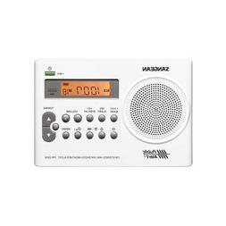 Sangean PR-D9W AM/FM/Weather Alert Rechargeable Portable Rad
