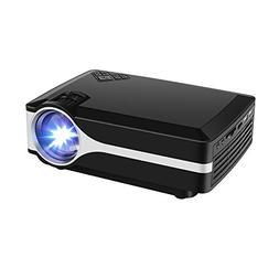 Projector Randemfy Upgraded +10% Lumens 800x480 Native Resol